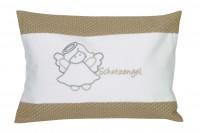 Kuschelkissen Schutzengel 30x20cm - beige
