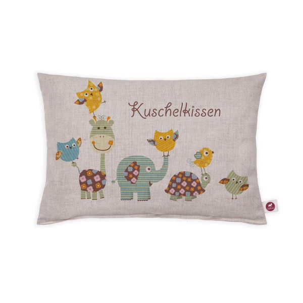 Motivkissen 30x20cm - Kuschelkissen Kids