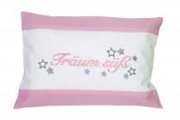 Kuschelkissen Träum süß 30x20cm - rosa